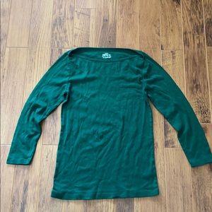 J.Crew perfect fit boatneck shirt